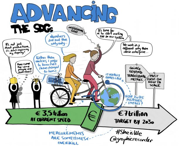 1. How are social entrepreneurs advancing the SDGs